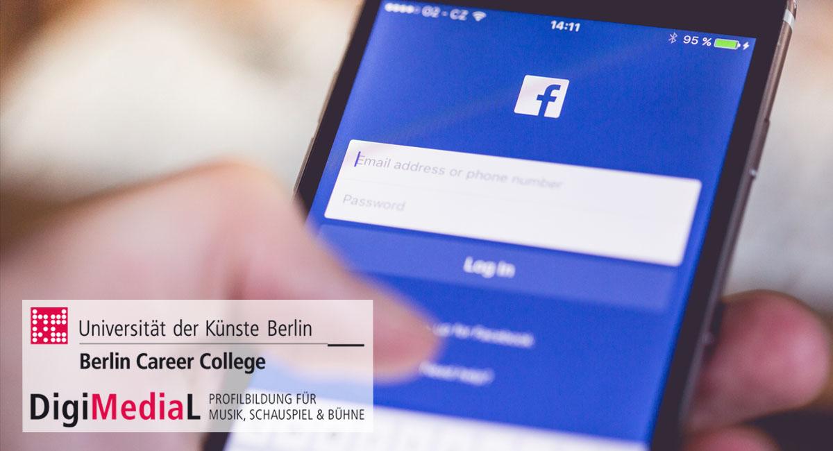 Workshop: Einführung In Social Media Für Akteure Der Darstellenden Künste (23.06.2016)