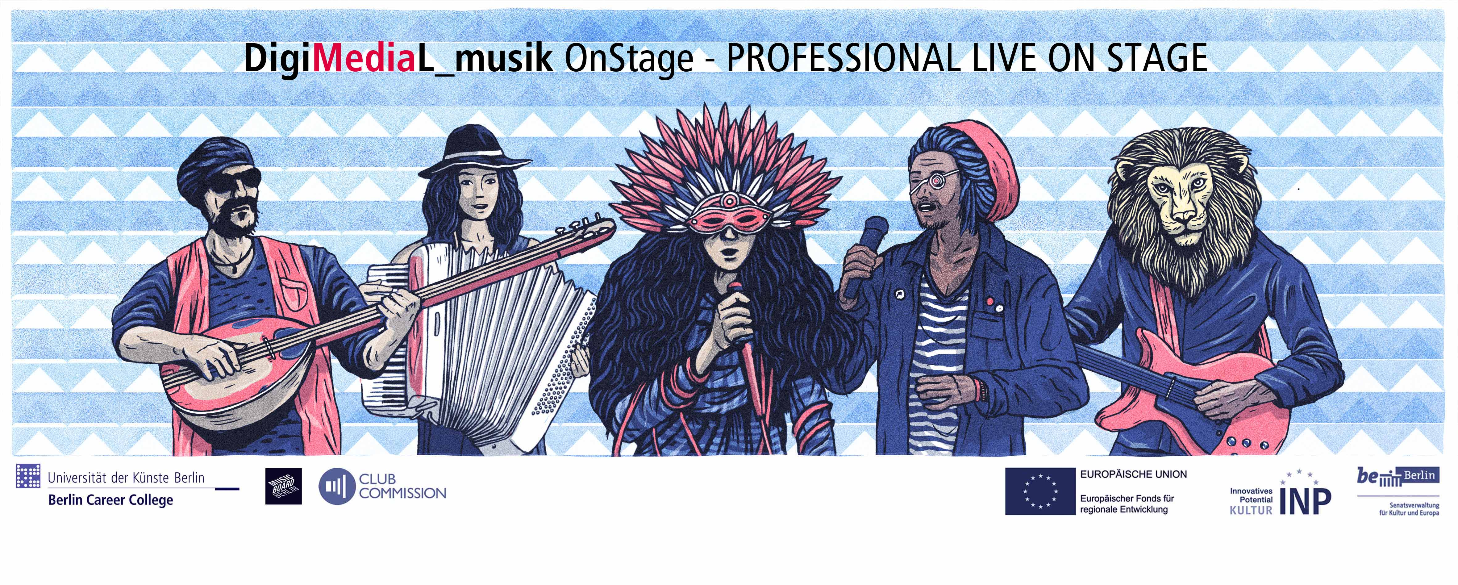 OnStage – PROFESSIONAL LIVE ON STAGE – Jetzt Bewerben/apply Now!